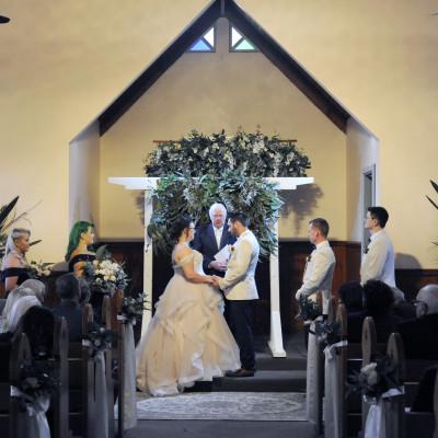 Lovedale Chapel Wedding